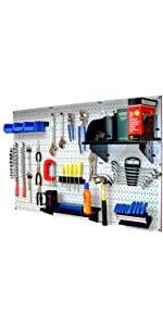 Pegboard Kit, Wall Control Kit, pegboard