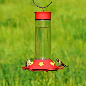 """Perky-Pet """"Our Best"""" Glass Hummingbird Feeder"""
