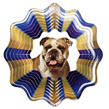 Iron Stop Bulldog Wind Spinner