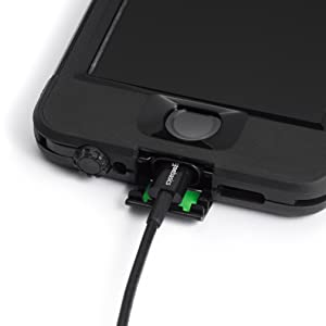 AmazonBasics Lightning Cable and Case