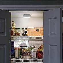 mr beams ceiling light, wireless pantry light