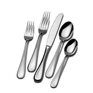 mikasa,flatware, forks, knives, sets, dinnerware