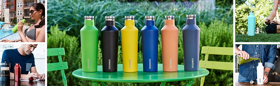 Finally, a Canteen to keep your drink cold.