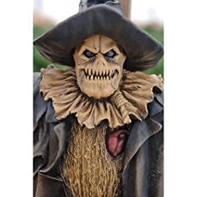 halloween statue, halloween scarecrow