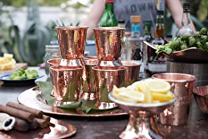 Sertodo, Copper Platters, Cigar trays, mint julep cups, moscow, moscow mule mugs, copper cups