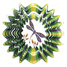 Iron Stop Dragonfly Wind Spinner