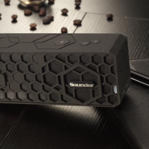 sounder 声德 蜂巢2s  无线蓝牙 音箱 黑色 (蓝牙4.0