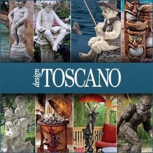 garden statues, halloween decor, fountains