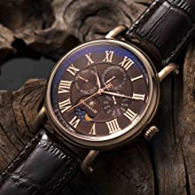 ES-8031 Maskelyne Men's Analog Display Japanese Quartz Watch Classic Look