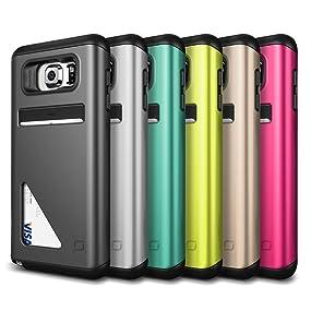 Galaxy Note 5 Case, Lific Mighty Card Defense Series