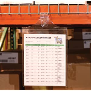 Hanging Loop Shop Ticket Holders