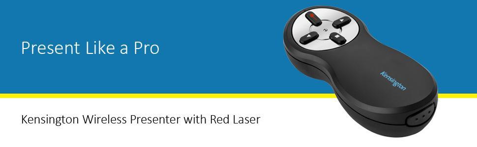 Kensington Wireless Presenter with Red Laser