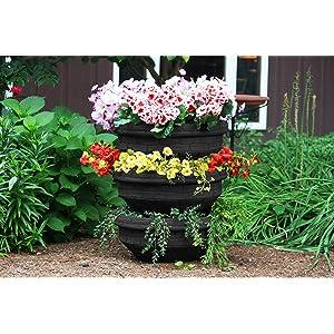 planter plant planting landscape pot vertical compost self watering garden