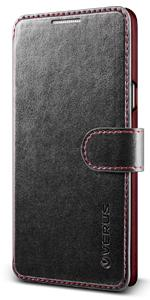 Galaxy Note 5 Case Wallet, Verus Layered Dandy Diary Series