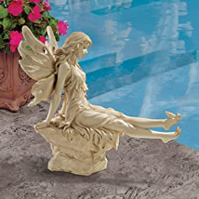 garden fairy, fairy statue