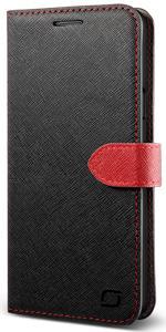 Galaxy Note 5 Case Wallet, Lific Saffiano Diary Series