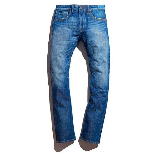 男士直筒牛仔裤