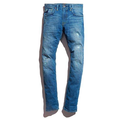男士修身牛仔裤