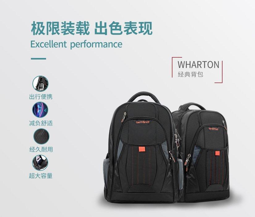 Samsonite/新秀丽 WHARTON背包