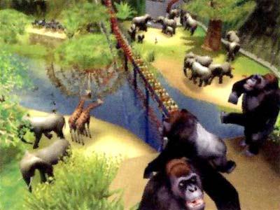 过山车大亨3:野生动物园(cd-rom)-游戏/娱乐-亚马逊