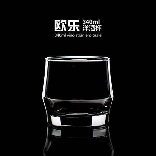 意德丽塔欧乐洋酒杯 烈酒杯 威士忌杯 家用水杯