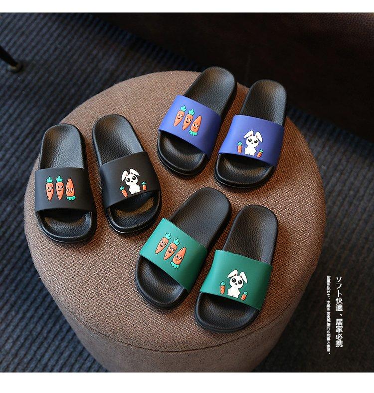 儿童拖鞋男童夏天卡通室内防滑可爱家居小孩托鞋女宝宝凉拖鞋浴室拖鞋