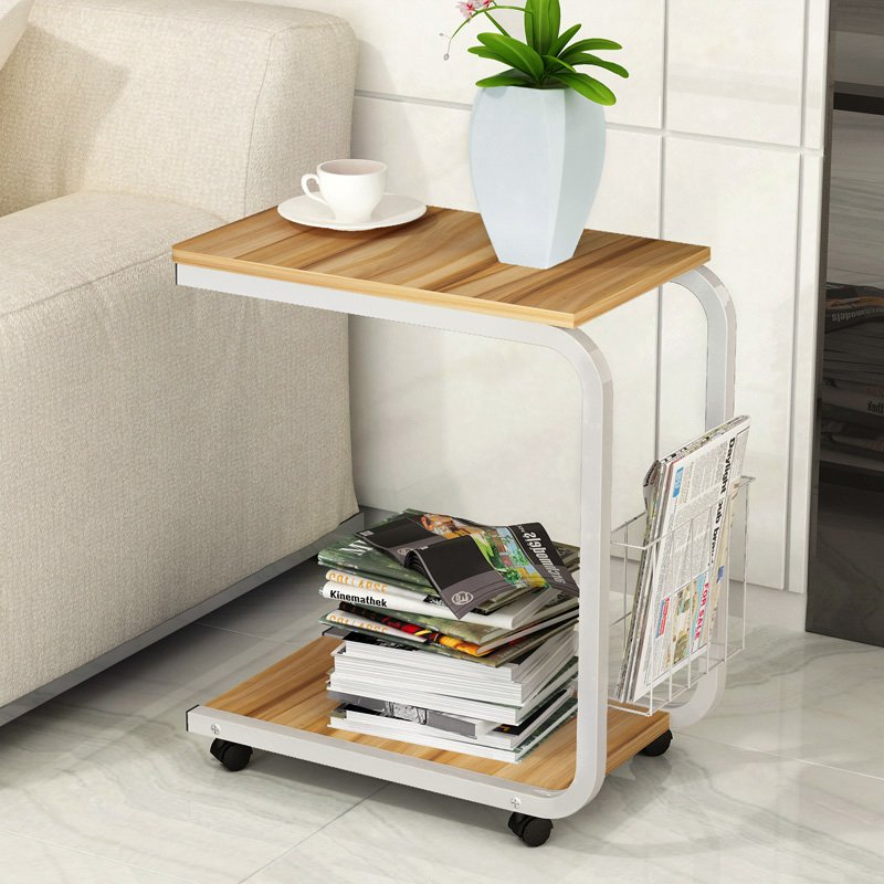边几现代简约角几卧室桌子小茶几移动床边桌客厅迷你沙发柜边柜