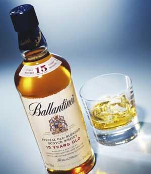Ballantine's金玺百龄坛十二年苏格兰威士忌700ml