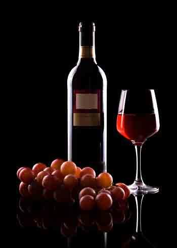 红葡萄酒品酒步骤