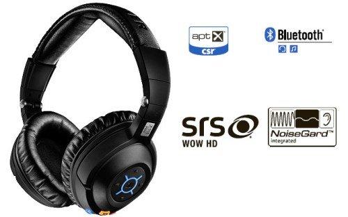 sennheiser 森海塞尔 mm550-x新款蓝牙降噪通讯耳机 黑色图片
