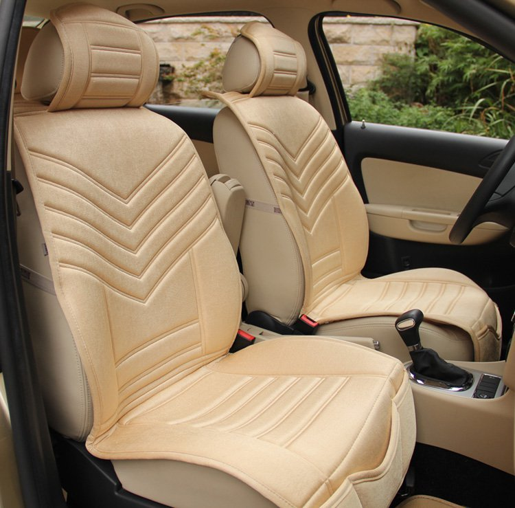 fourtune 富程 汽车坐垫/座垫 通用车垫 内饰 展翅飞翔(米色,高级丝光