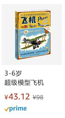 小小收藏家超级模型飞机