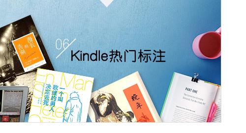 Kindle热门标注