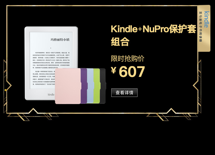 Kindle+NuPro保护套