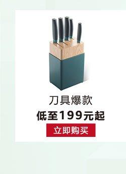 2017年厨具小家电Xmas促销刀具