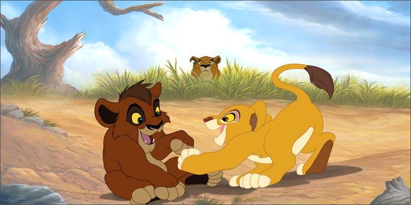 狮子王2:辛巴的荣耀(DVD)