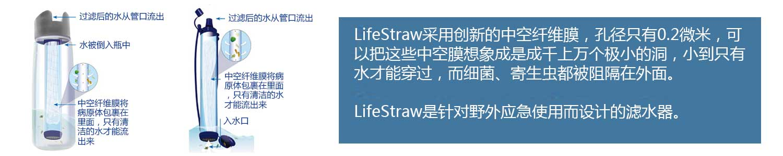 2016运动户外休闲LifeStraw生命吸管新上市震撼上市健康饮水新方式下单售价立减30元-亚马逊
