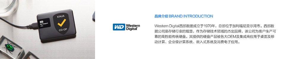 Western Digital品牌故事-亚马逊海外购