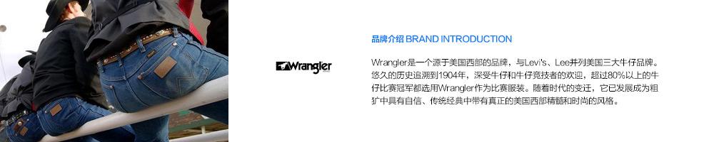 Wrangler是一个源于美国西部的品牌,与Levi's、Lee并列美国三大牛仔品牌。悠久的历史追溯到1904年,深受牛仔和牛仔竞技者的欢迎,超过80%以上的牛仔比赛冠军都选用Wrangler作为比赛服装。随着时代的变迁,它已发展成为粗犷中具有自信、传统经典中带有真正的美国西部精髓和时尚的风格。-亚马逊海外购