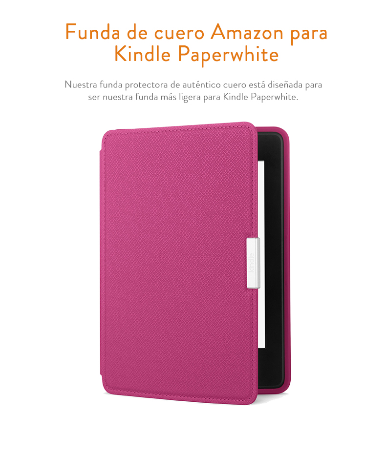 Amazon - Funda de cuero para Kindle Paperwhite, color amarillo ...