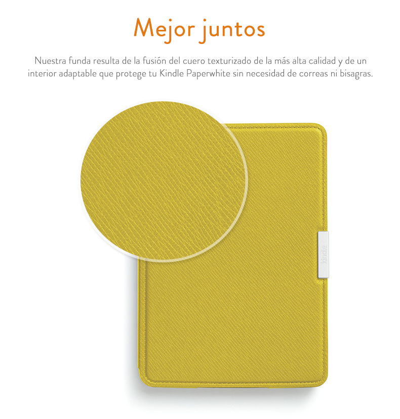 Amazon - Funda de cuero para Kindle Paperwhite, color negro ónix ...