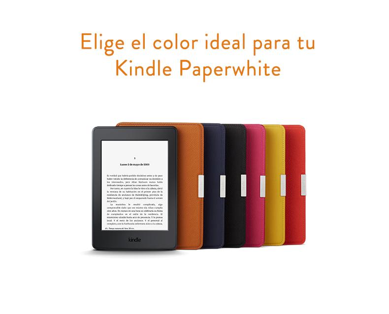 Amazon - Funda de cuero para Kindle Paperwhite, color negro ónix ...