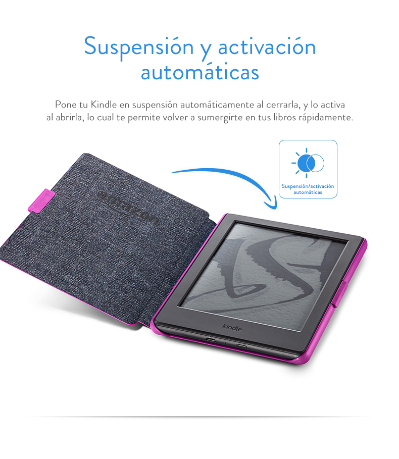 Amazon - Funda protectora para Kindle, color magenta - no es ...