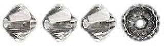 Swarovski Elements 5328 Xilion Bicone Diamond Beads, Transparent, Crystal, 5-mm, 24/Pack