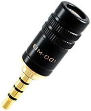 EDUTIGE i-Microphone * 3.5 毫米 4 极 (TRRS) 麦克风-适用于智能手机与平板电脑