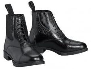 Devon Aire Lakeridge 儿童系带皮鞋 像骑行靴 5 黑色
