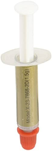 WROWAK 信越化学工业 高品质热润滑脂 热传导率6.2W/m・K 1.5g装 涂抹用刮刀 WW-7868-1.5G