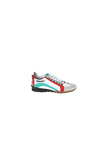 DSQUARED2 DSQUARED2 男人 S17SN434714M380 彩色 皮革 运动鞋 / 意大利直邮【亚马逊海外卖家】