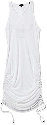 Emporio Armani 安普里奥·阿玛尼女式无骨针织标志连衣裙