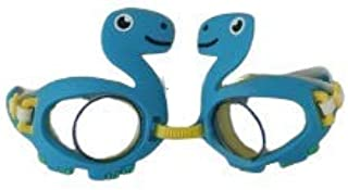 可靠的儿童角色游泳护目镜恐龙鲨鱼青蛙